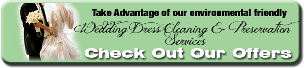 Green Dry Cleaning Calgary - Wedding Dress Depot